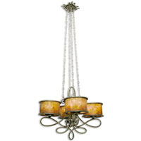 Whitfield 16 Light 31 inch Aged Silver Chandelier Ceiling Light in Without Shade, Antique Copper
