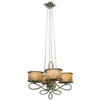 Kalco Lighting Whitfield 16 Light Chandelier in Aged Silver 6584SV
