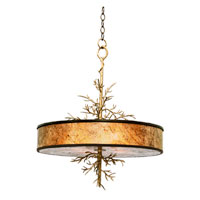 Kalco Oakham 4 Light Island Light in Bronze 6610BZ