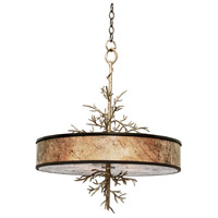 Oakham 4 Light 22 inch Bronze Pendant Ceiling Light in Bronze Gold