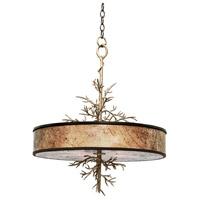Kalco 6611BZG Oakham 4 Light 22 inch Bronze Gold Pendant Ceiling Light