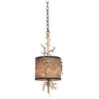 Kalco 6614BZG Oakham 2 Light 10 inch Bronze Gold Mini Pendant Ceiling Light