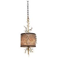 Kalco 6614BZG Oakham 2 Light 10 inch Bronze Gold Mini Pendant Ceiling Light
