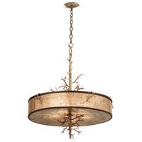 Kalco 6615BZG Oakham 5 Light 28 inch Bronze Gold Pendant Ceiling Light