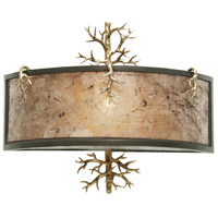 Kalco Lighting Oakham 1 Light Wall Sconce in Bronze Gold 6616BZG