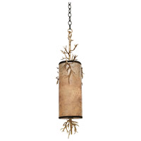 Kalco Oakham 2 Light Mini Pendant in Bronze Gold 6617BZG