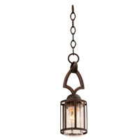 Kalco Lighting Keswick 1 Light Mini Pendant in Antique Copper 6686AC