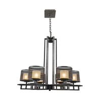 Kalco Lighting Stanley 6 Light Chandelier in Volcano Bronze 6715VB