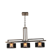 Stanley 3 Light 28 inch Volcano Bronze Island Ceiling Light in VB