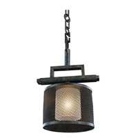 Kalco Lighting Stanley 1 Light Mini Pendant in Volcano Bronze 6718VB