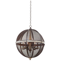 Coronado 6 Light 25 inch Florence Gold Chandelier Ceiling Light