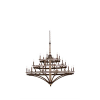 Coronado 24 Light 60 inch Florence Gold Chandelier Ceiling Light
