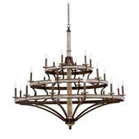 Coronado 8 Light 60 inch Florence Gold Chandelier Ceiling Light