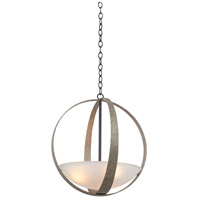 Kalco 7096VI Irvine 3 Light 18 inch Vintage Iron Pendant Ceiling Light