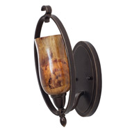 Kalco Lighting Mateo 1 Light Bath Light in Hierloom Bronze 7231HB/PENSH