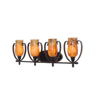 Kalco Lighting Mateo 4 Light Bath Light in Hierloom Bronze 7234HB/PENSH