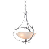 Kalco Mateo 3 Light Pendant in Flecked Iron 7239FI