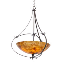 Kalco Lighting Mateo 5 Light Pendant in Hierloom Bronze 7240HB/PENSH