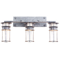 Kalco Lighting Anchorage 3 Light Bath Vanity in Rugged Iron 7293RI
