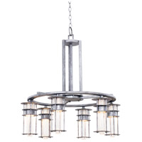 Kalco Lighting Anchorage 6 Light Chandelier in Rugged Iron 7297RI
