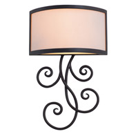 Kalco Lighting Concord 6 Light Wall Sconce in Bronze 7480BZ