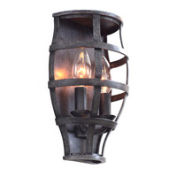 Kalco Townsend 2 Light Wall Sconce in Vintage Iron 7491VI