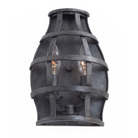 Kalco Townsend 2 Light Wall Sconce in Vintage Iron 7492VI