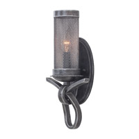 Kalco Lighting Delancy 1 Light Wall Sconce in Vintage Iron 7521VI