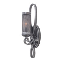 Kalco Delancy 1 Light Wall Sconce in Vintage Iron 7525VI