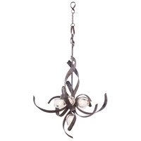 Kalco Solana 6 Light Chandelier in Oxidized Copper 7540OC