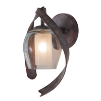 Solana 1 Light 8 inch Oxidized Copper Bath Vanity Wall Light
