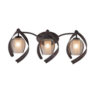 Kalco Lighting Solana 3 Light Bath Vanity in Oxidized Copper 7543OC