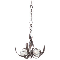 Solana LED 28 inch Oxidized Copper Chandelier Ceiling Light