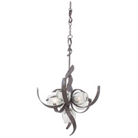 Kalco Solana 6 Light Chandelier in Oxidized Copper 7551OC
