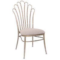 Biscayne Platinum Dining Chair Home Decor, Dining Chair without Armrest, Set of 2