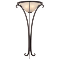 Kalco Lighting Santa Barbara 2 Light Wall Sconce in Tortoise Shell 814TO