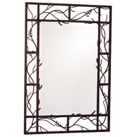 Kalco 830BA Vine 45 X 31 inch Bark Mirror Home Decor