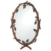 Ponderosa 41 X 26 inch Ponderosa Wall Mirror Home Decor