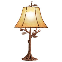 Kalco Lighting Ponderosa 1 Light Table Lamp in Ponderosa 872PD
