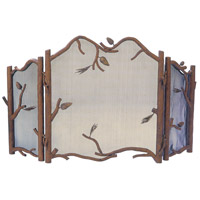 Kalco Lighting Ponderosa Fireplace Screen in Ponderosa 878PD