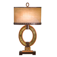 Kalco Aspen 2 Light Table Lamp in Royal Mahogany 895RM