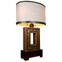 Aspen 30 inch 75 watt Natural Iron Table Lamp Portable Light