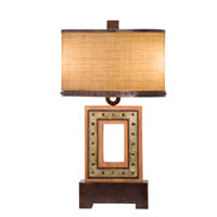 Kalco Aspen 2 Light Table Lamp in Royal Mahogany 896RM