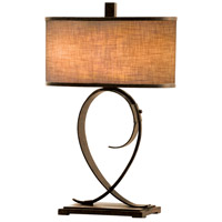 Kalco Rodeo Drive 2 Light Table Lamp in Antique Copper 898AC