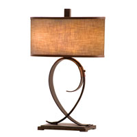 Kalco Rodeo Drive 2 Light Table Lamp in Black 898SB