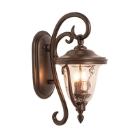 Kalco 9001BB Santa Barbara Outdoor 2 Light 11 inch Burnished Bronze Wall Sconce Wall Light