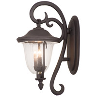 Kalco 9001MB Santa Barbara Outdoor 2 Light 11 inch Textured Matte Black Wall Sconce Wall Light