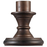 Signature 9 inch Burnished Bronze Outdoor Pier Mount