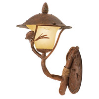 Kalco Lighting Ponderosa 1 Light Outdoor Wall Bracket in Ponderosa 9161PD
