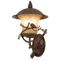 Kalco 9164PD Ponderosa Outdoor 3 Light 14 inch Ponderosa Wall Sconce Wall Light